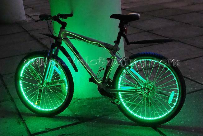 Как сделать подсветку для велосипеда своими руками видео